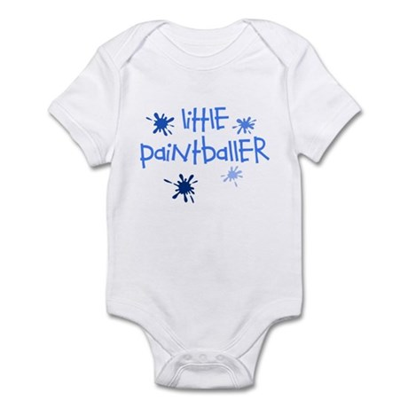 Little Paintballer Boy's Infant Bodysuit