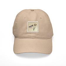 Earth Tones Dragonfly Baseball Cap