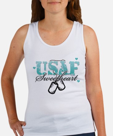 Unique Air force mom Women's Tank Top