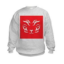 Red Tiger Logo Sweatshirt