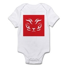 Red Tiger Logo Infant Bodysuit