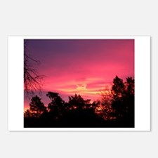 Pink Sunrise Postcards (Package of 8)