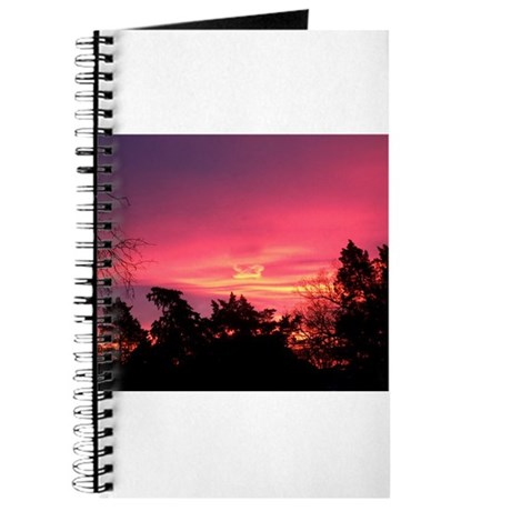 Pink Sunrise Journal