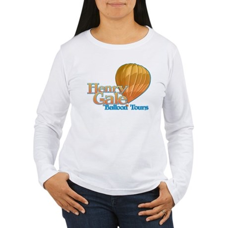 Henry Gale Balloon Tours Women's Long Sleeve T-Shi