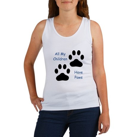 All My Children Have Paws Women's Tank Top