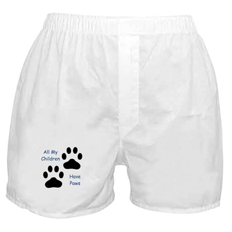 All My Children Have Paws Boxer Shorts