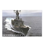 USS WADSWORTH Postcards (Package of 8)