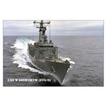 USS WADSWORTH Large Poster