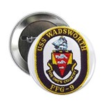 """USS WADSWORTH 2.25"""" Button (10 pack)"""