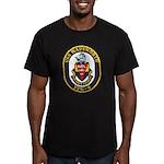USS WADSWORTH Men's Fitted T-Shirt (dark)