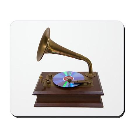 Antique CD Player Mousepad