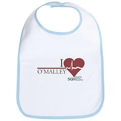 I Heart O'Malley - Grey's Anatomy Bib