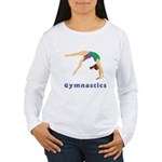 Colorful Gymnast Women's Long Sleeve T-Shirt