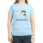 Colorful Gymnast Women's Light T-Shirt