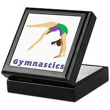 Colorful Gymnast Keepsake Box