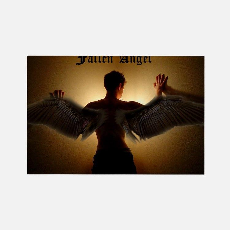 Fallen Angel Rectangle Magnet