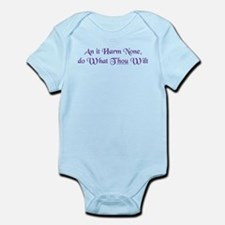 Wiccan Rede Infant Bodysuit