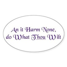 Wiccan Rede Decal