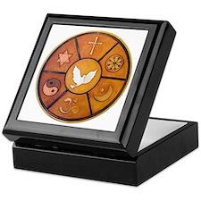 Interfaith Symbol - Keepsake Box