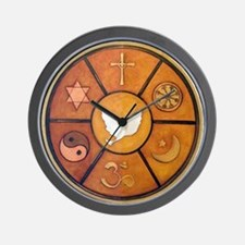 Interfaith Symbol - Wall Clock