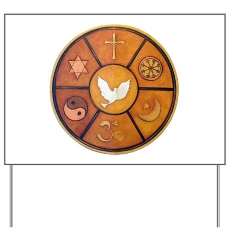 Interfaith Symbol - Yard Sign