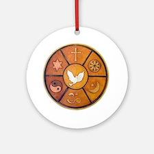 Interfaith Symbol - Ornament (Round)