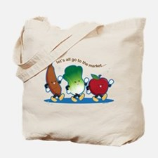 Let's Go to the Market! Tote Bag