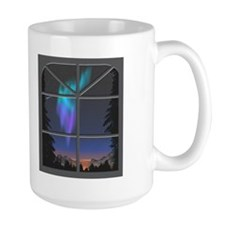 CafePressAurora4Mug2Flat Mugs