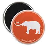 "elephant 2.25"" Magnet (10 pack)"