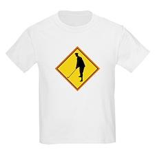 Golf Sign Kids T-Shirt