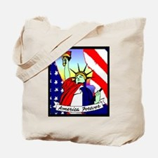 America Forever Statue Of Liberty Tote Bag