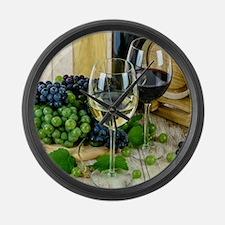 wine Large Wall Clock