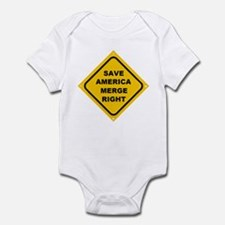 Save America Merge Right Infant Bodysuit