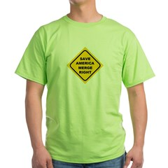 Save America Merge Right T-Shirt