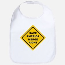 Save America Merge Right Bib