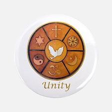 "Interfaith ""Unity"" - 3.5"" Button"