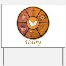 "Interfaith ""Unity"" - Yard Sign"
