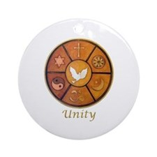 "Interfaith ""Unity"" - Ornament (Round)"