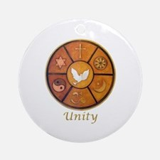 "Interfaith ""Unity"" - Ornament (Round)"