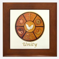 """Interfaith """"Unity"""" - Framed Tile"""