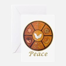 "Interfaith ""Peace"" - Greeting Card"