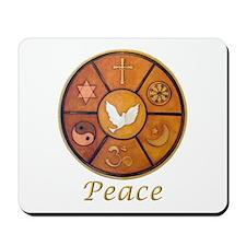 "Interfaith ""Peace"" - Mousepad"