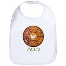 "Interfaith ""Peace"" - Bib"