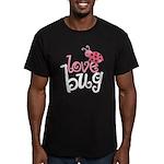 Love Bug Men's Fitted T-Shirt (dark)