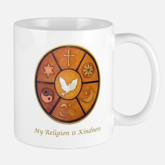 "Interfaith ""My Religion is Kindness"" Mug"