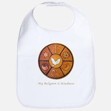 "Interfaith ""My Religion is Kindness"" Bib"
