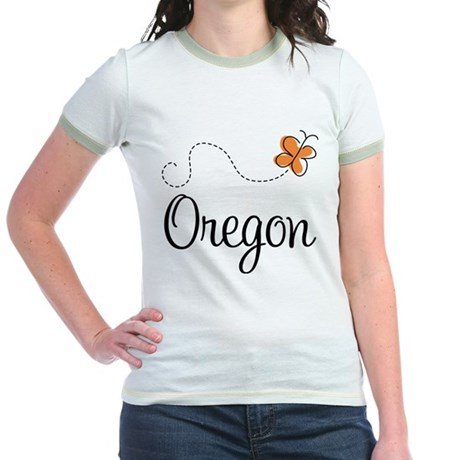 Pretty Oregon Jr. Ringer T-Shirt