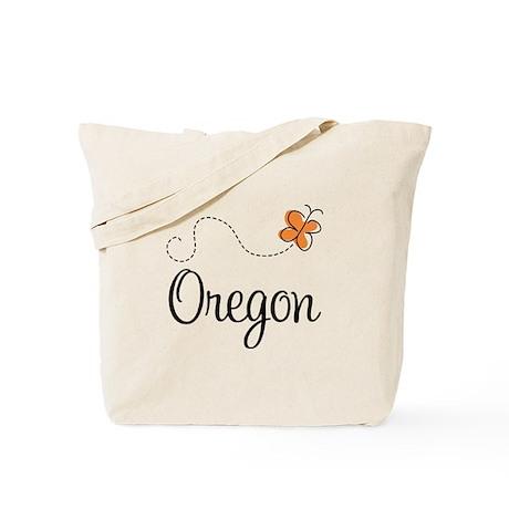 Pretty Oregon Tote Bag