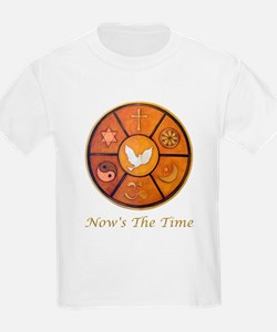 """Interfaith """"Now's The Time"""" T-Shirt"""