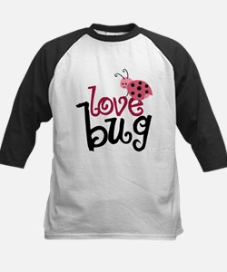 Love Bug Kids Baseball Jersey